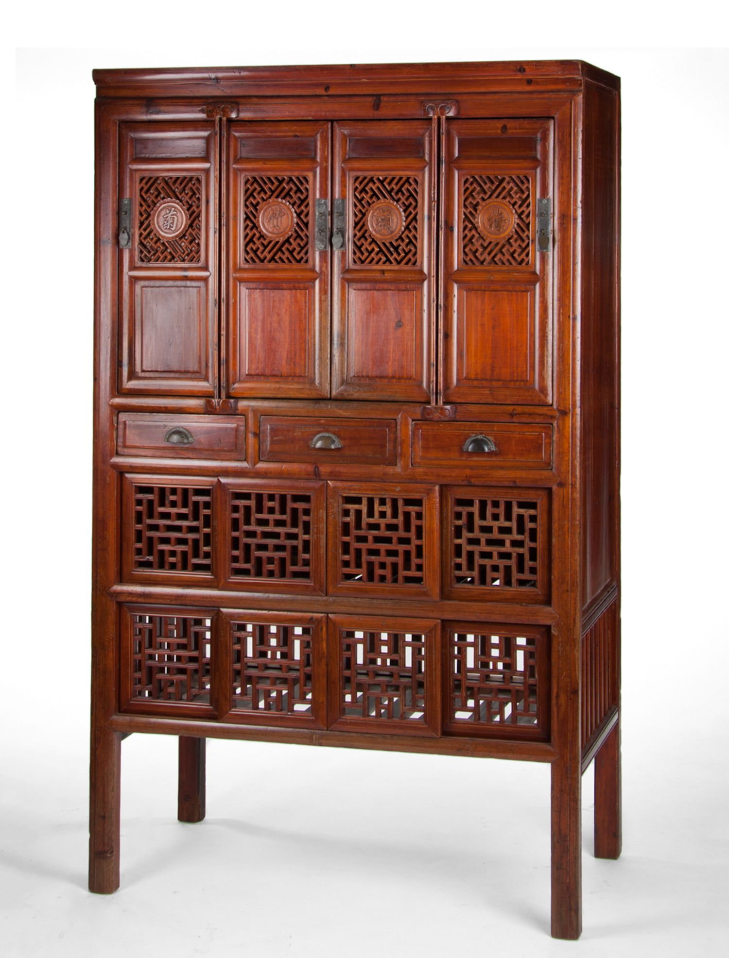 Early 20th Century Kitchen Cabinet Kitchen Cabinets Were An Important Part Of The Traditional Chinese Home Dishes Prepared By The Family Cook Would Be Placed