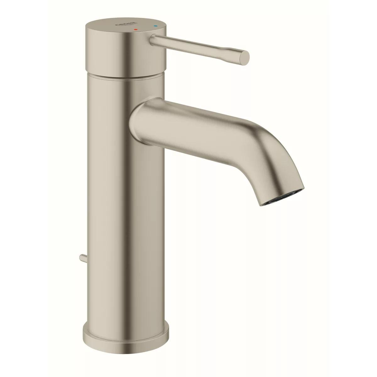 Grohe 23592gna Essence 1 2 Gpm Single Hole Build Com Single Hole Bathroom Faucet Bathroom Faucets Bathroom Sink Faucets Single Hole [ 1200 x 1200 Pixel ]