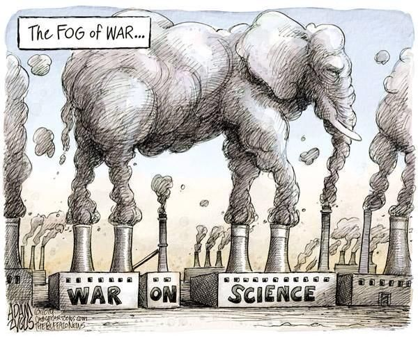 Image result for trump war on science