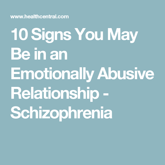 Signs he may be abusive