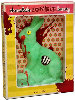 Loving gift for my adult son crafty gifts pinterest sons why is chocolate zombie bunny on the worst easter gifts list zombie bun is awesome this is something boyer probably has in her easter basket negle Image collections