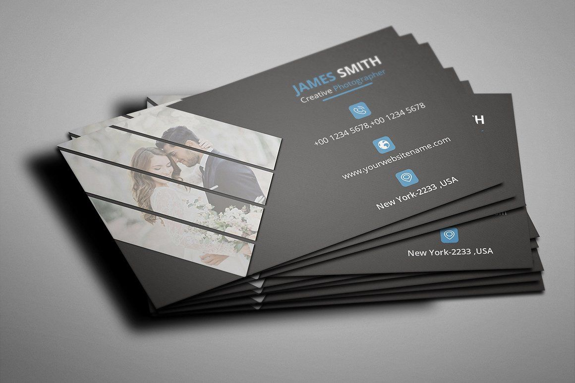 Photography Business Card With Images Photography Business