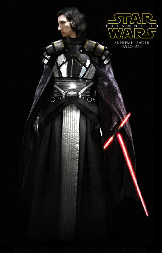 Supreme Leader Kylo Ren Of The First Order Star Wars