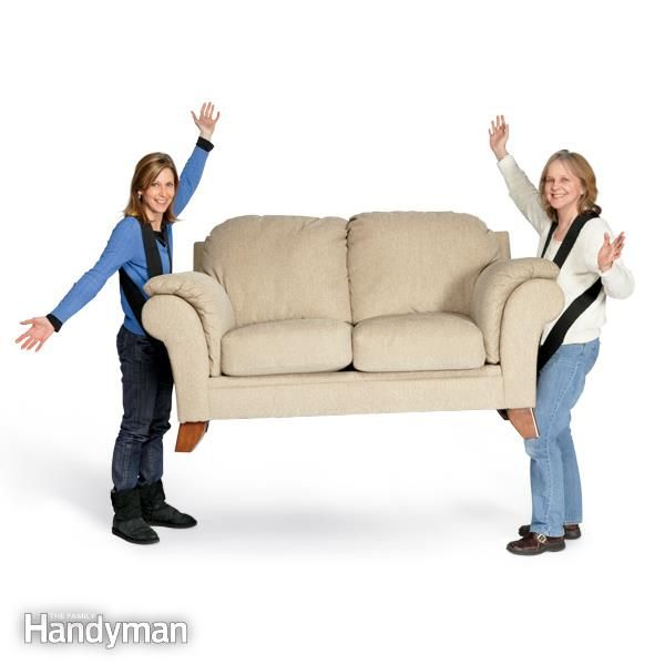 Tips For Easier Diy When You Work By Yourself Moving Furniture Home Safety Tips Family Handyman