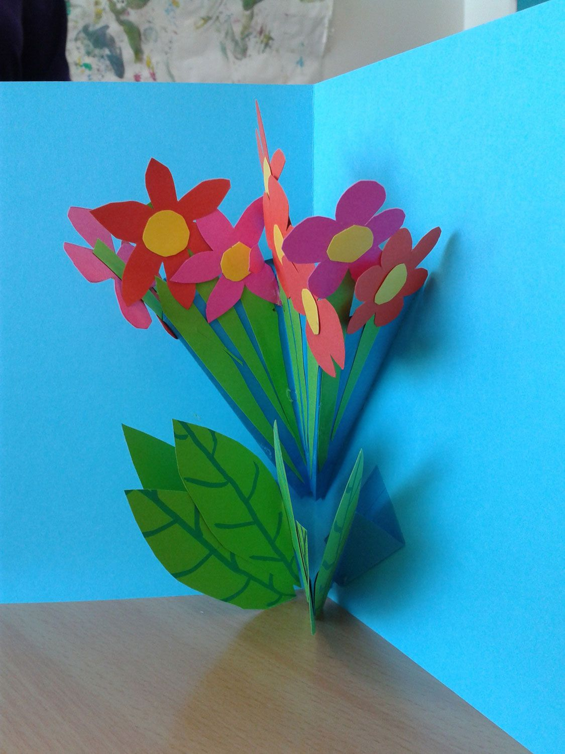 Carte pop up bouquet de fleurs carte pinterest kirigami carte pop up bouquet de fleurs mightylinksfo