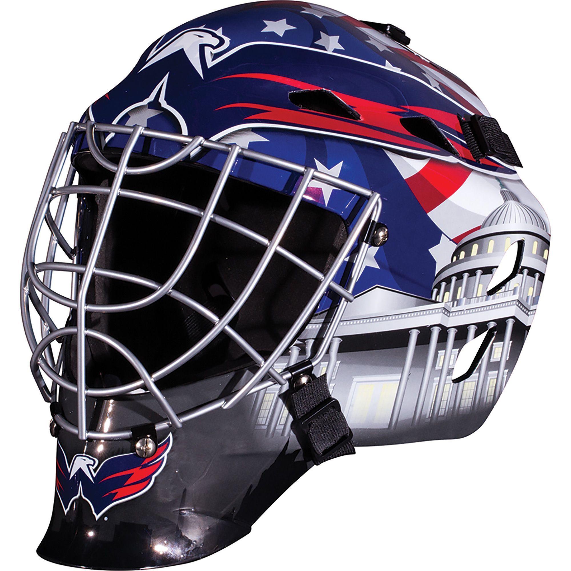 Franklin Sports NHL Team Goalie Mask One Size Fits most