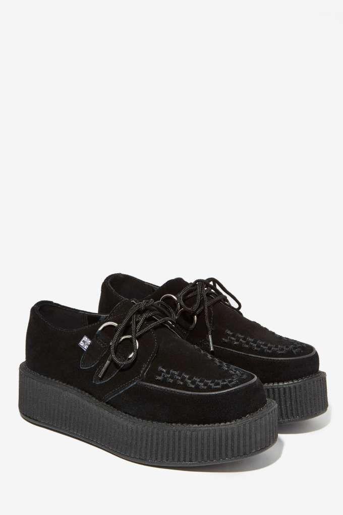 dda5cdc43c276 T.U.K. Viva Mondo Suede Creeper - Shoes