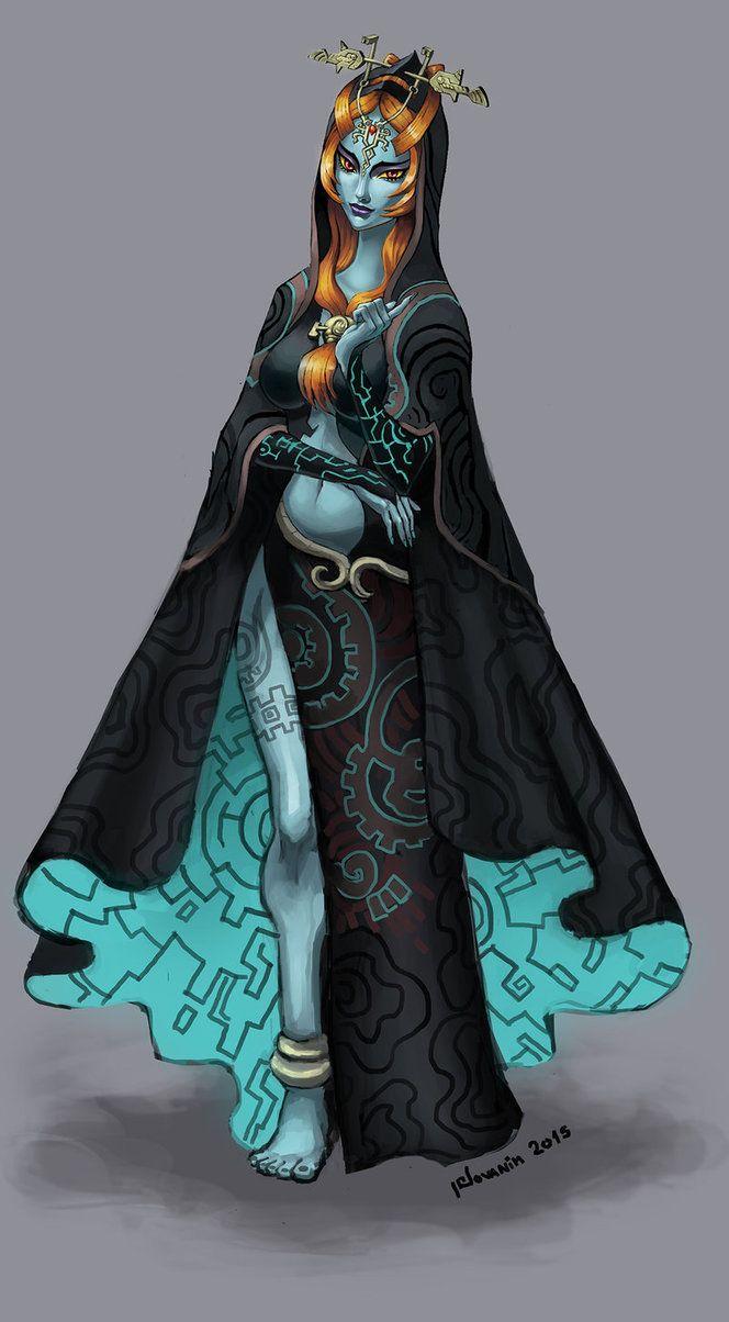 Zelda Twilight Princess Midna Twilight Princess Midn...