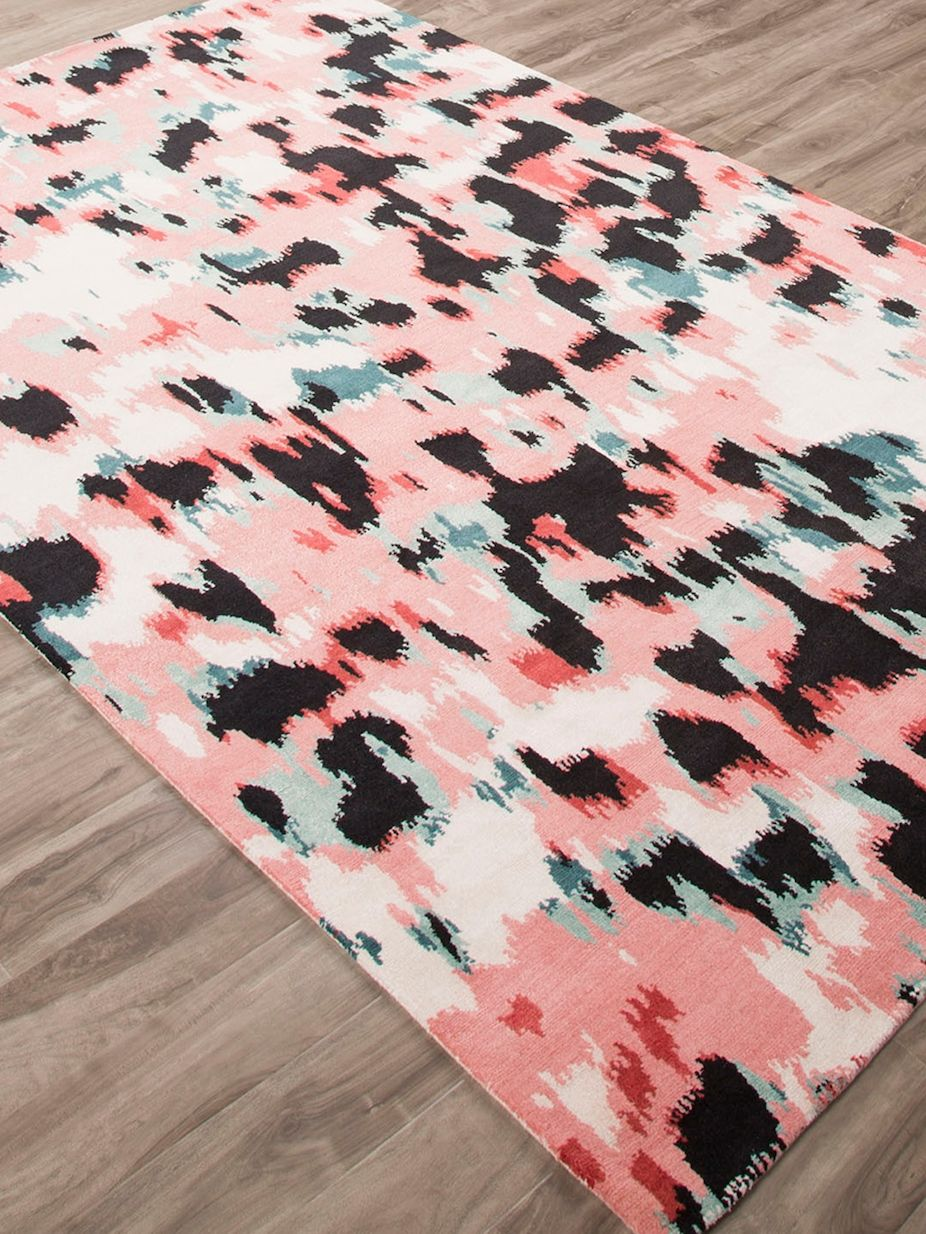 Kate Spade By Jaipur Watercolor Leopard Area Rug Katespadebyjaipur Leopard Watercolor Rugs Hand Knotted Rugs Leopard Watercolor