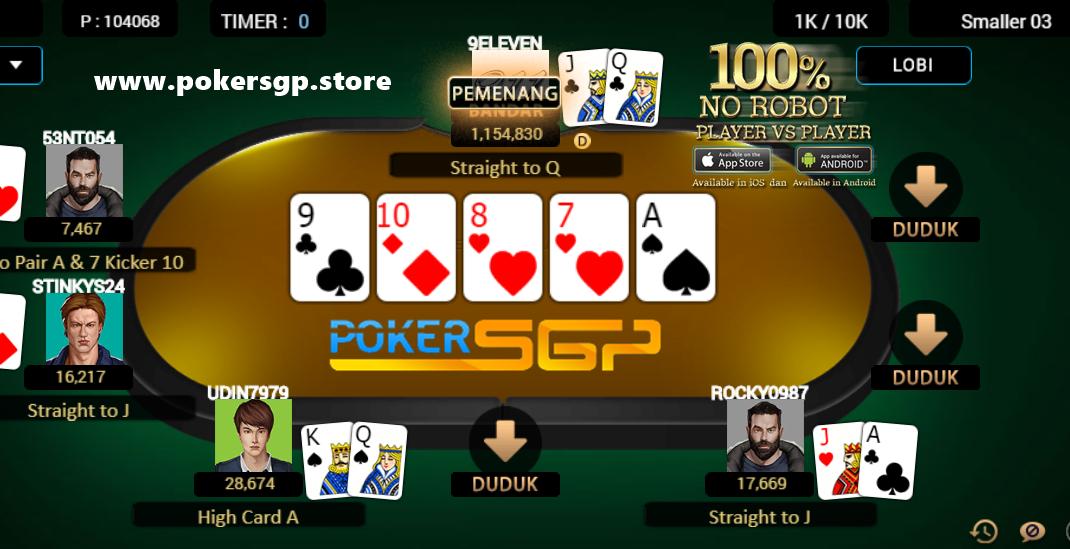Pin Di Jenis Jenis Permainan Pokersgp