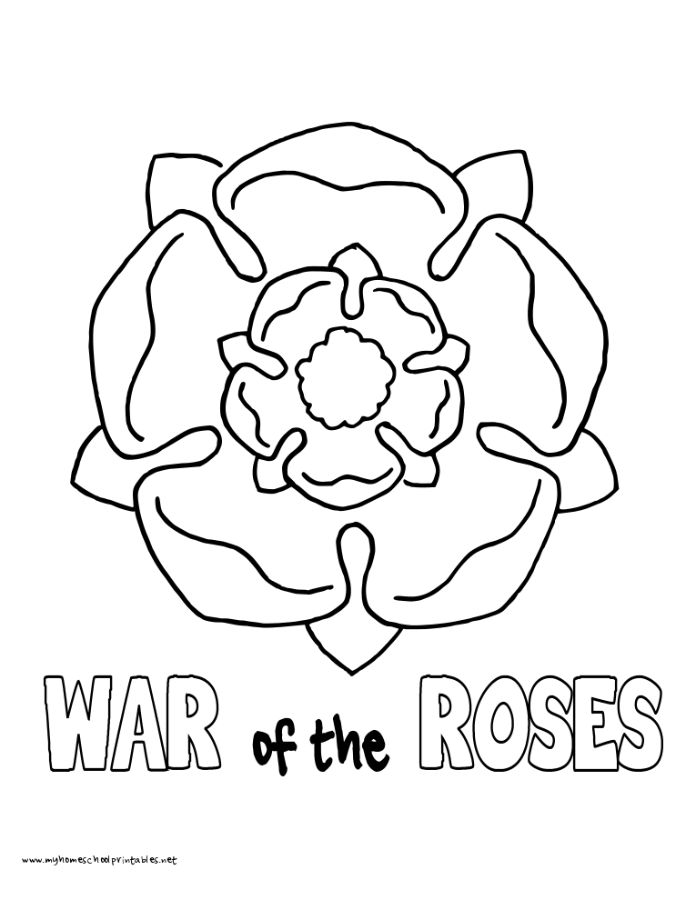 History Coloring Pages Volume 3 Rose Coloring Pages Coloring