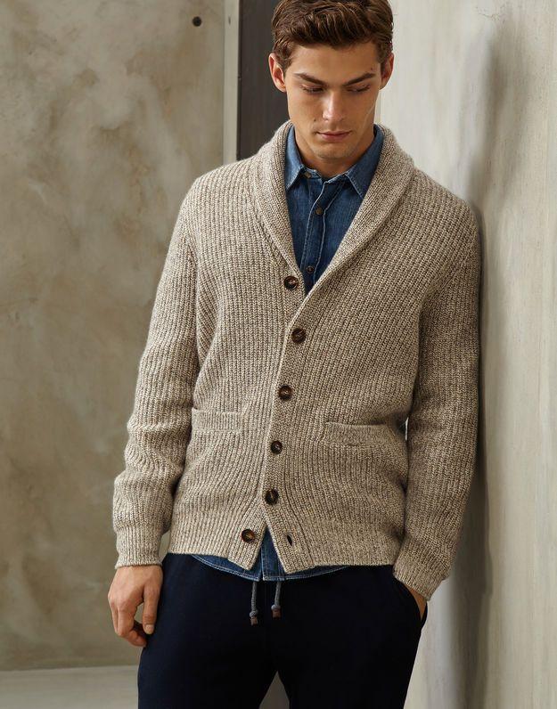 d06b6a880f6 Pin by Lars . on Cardigan Shawl | Men sweater, Shawl cardigan, Sweaters