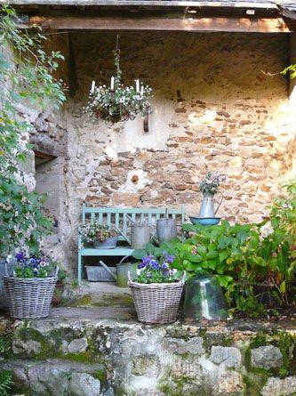 Superbacana blog giardino provenzale idee che - Giardini country ...