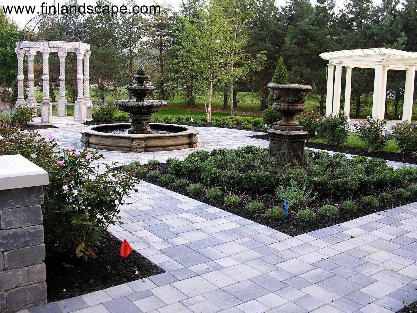 Formal gardens 01 columbus ohio landscapes pinterest for Formal garden