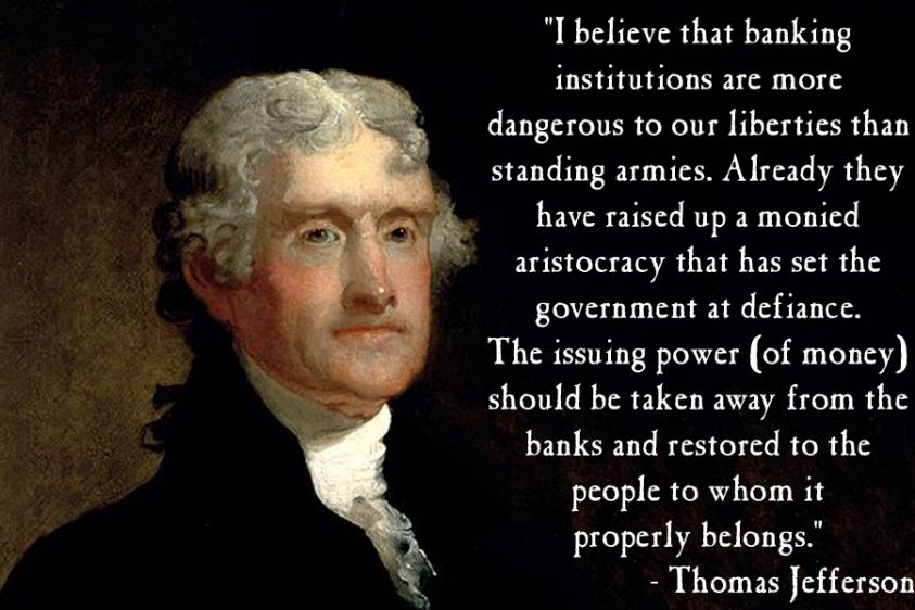 Thomas Jefferson on Banking | Liberty | Thomas jefferson quotes