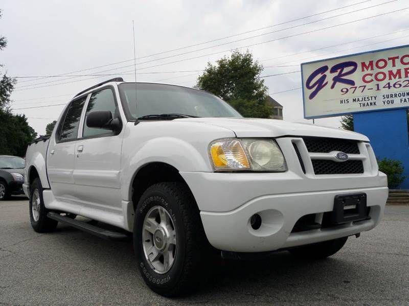 2004 Ford Explorer Sport Trac XLT 4x4 9,478 Pickup