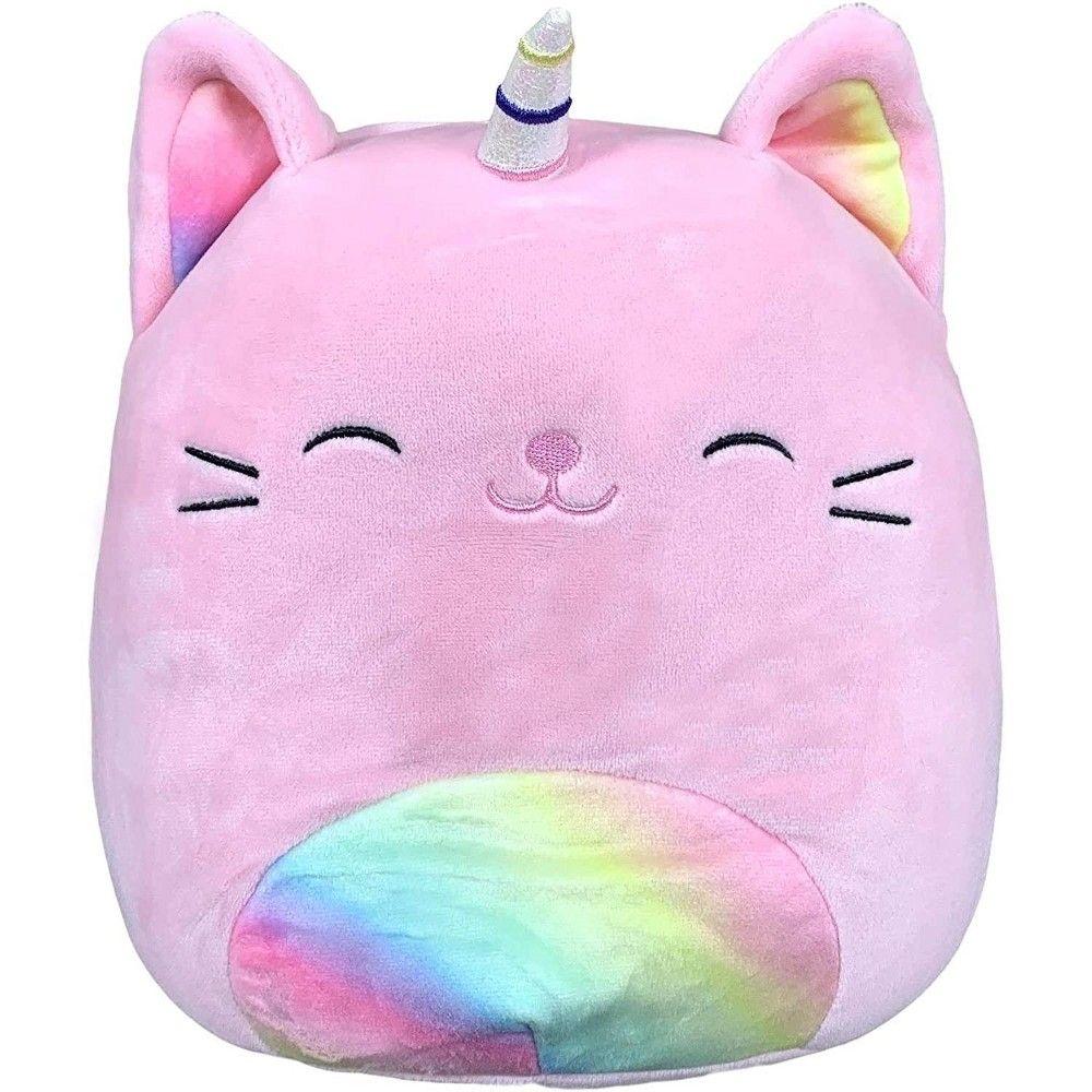 Kellytoy Squishmallow 24 Inch Plush Sabrina The Pink Caticorn Pillow Pals Animal Pillows Pet Toys