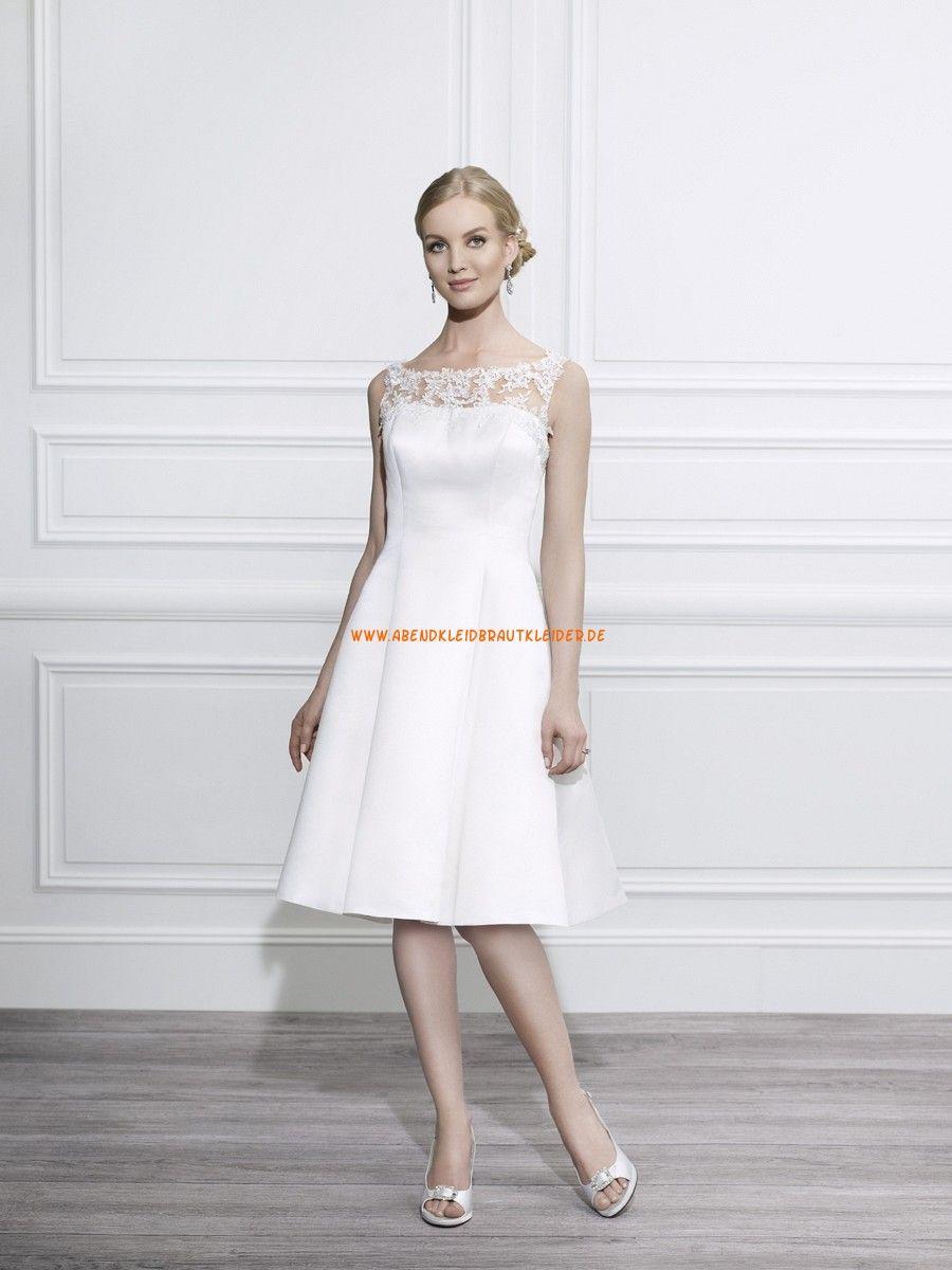 Moonlight Tango A-linie Süße Brautkleider aus Taft mit Applikation ...