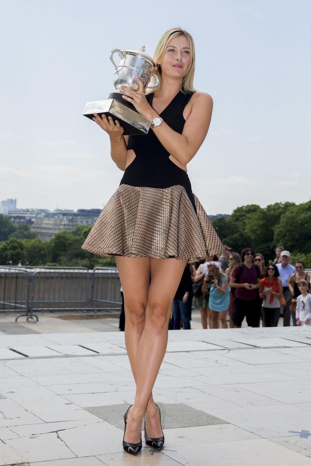 Sharapova Russa beleza de mulher