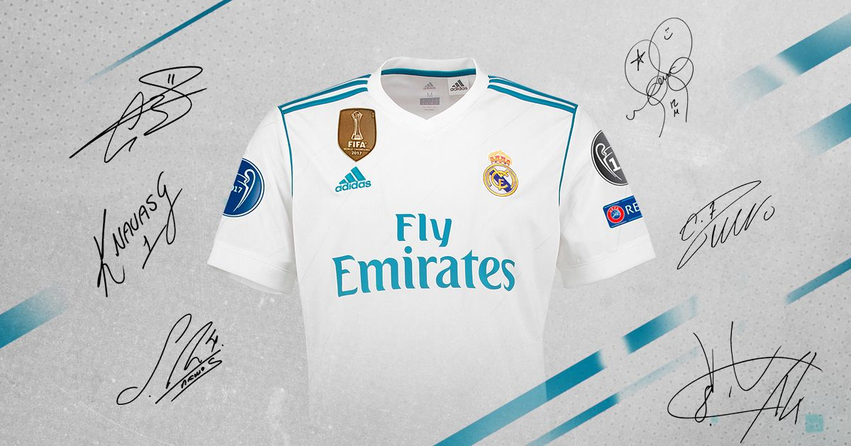 I Have Taken Part In This Promo To Win A Real Madrid Uefa Champions League Jersey Signed By The First Team Squad You Can Too Real Madrid Madrid One Team
