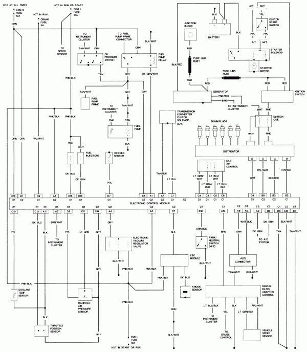 10  1994 Gmc Sierra V6 Full Engine Wiring Diagram