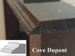 Image Result For Dupont Over Cove Countertop Edge Engineered Stone Granite Countertops Coving