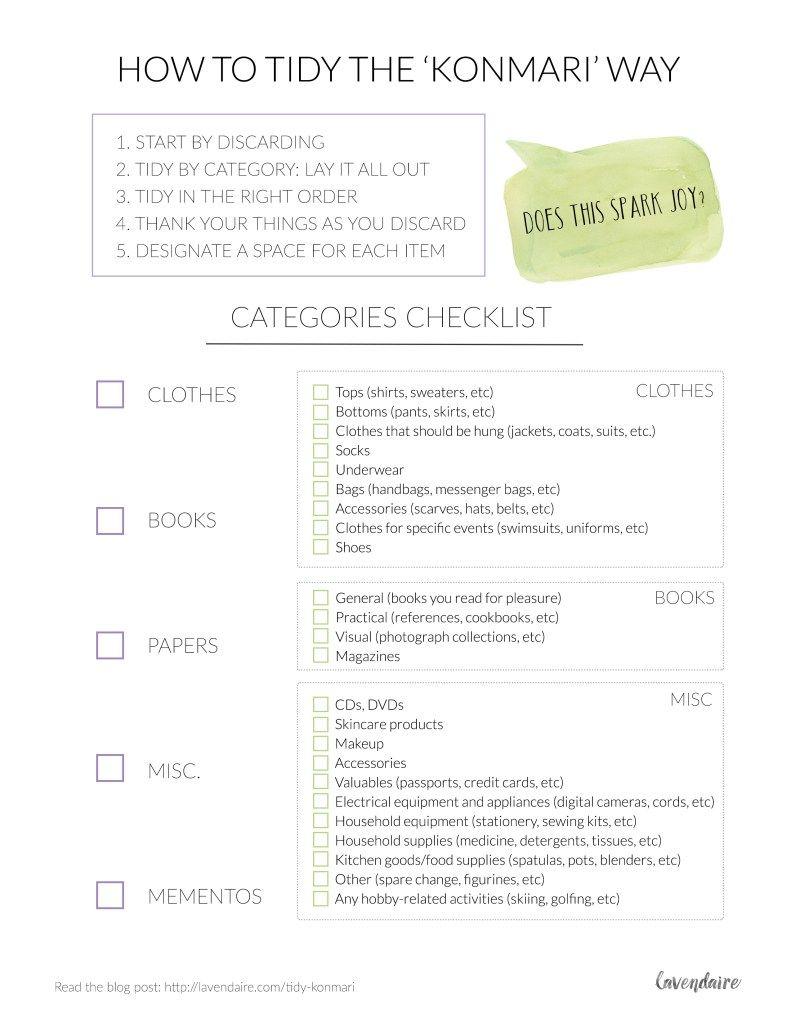 how to tidy the konmari way lavendaire blog podcast pinterest konmari konmari method. Black Bedroom Furniture Sets. Home Design Ideas