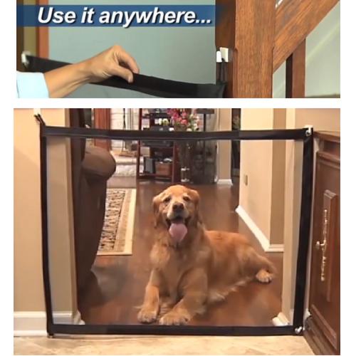Original Magic Mesh Pet Gate 55 Off Today Pet Gate Dog Gate Pets