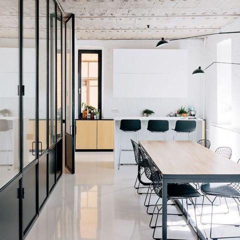 Epoxy Floor Ideas Office Interior Design Industrial Office