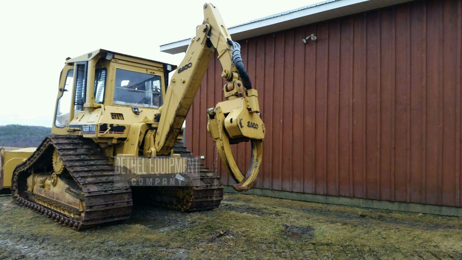 1996 Caterpillar D5H Dozer with Esco Grapple, Hours Unknown