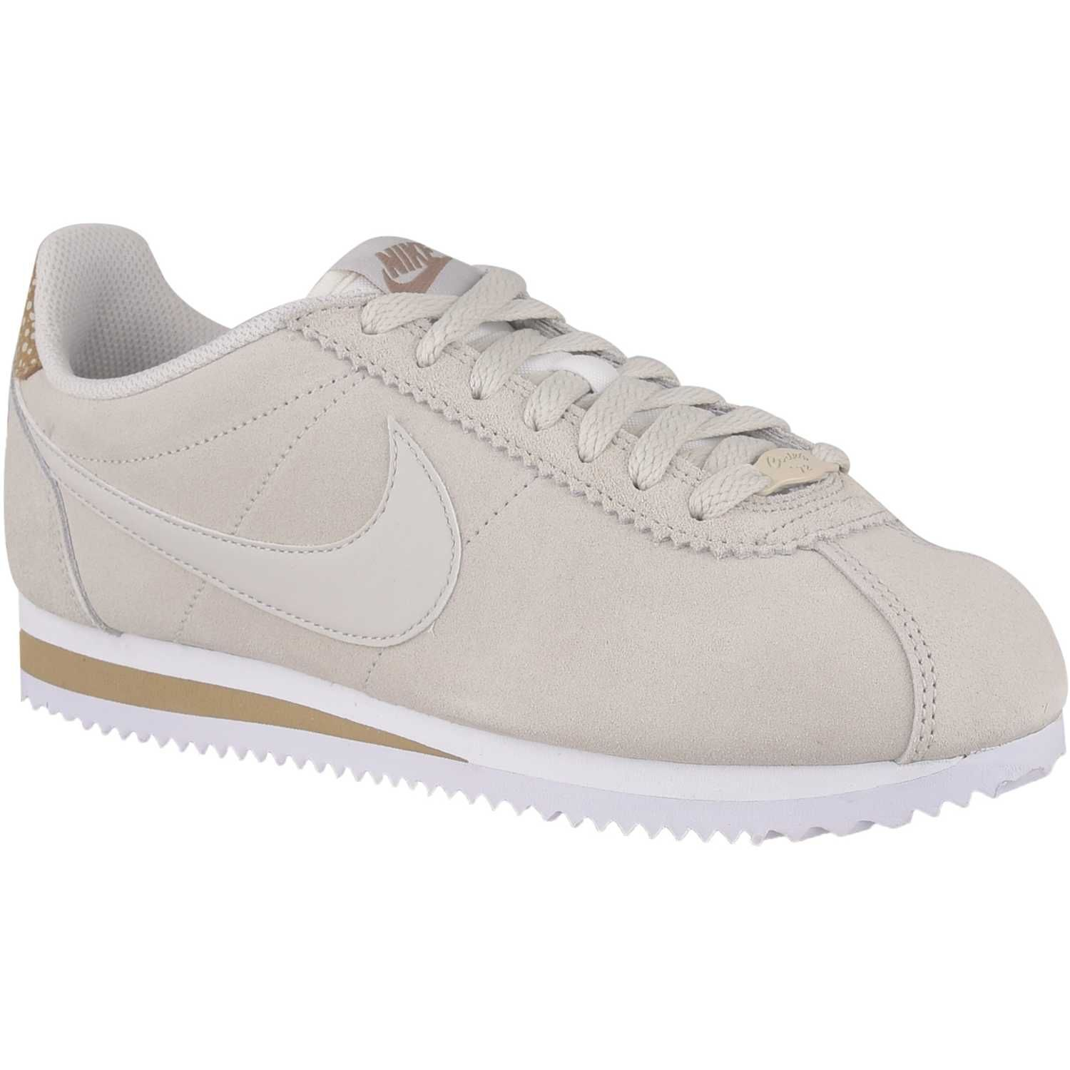 nike cortez grises mujer