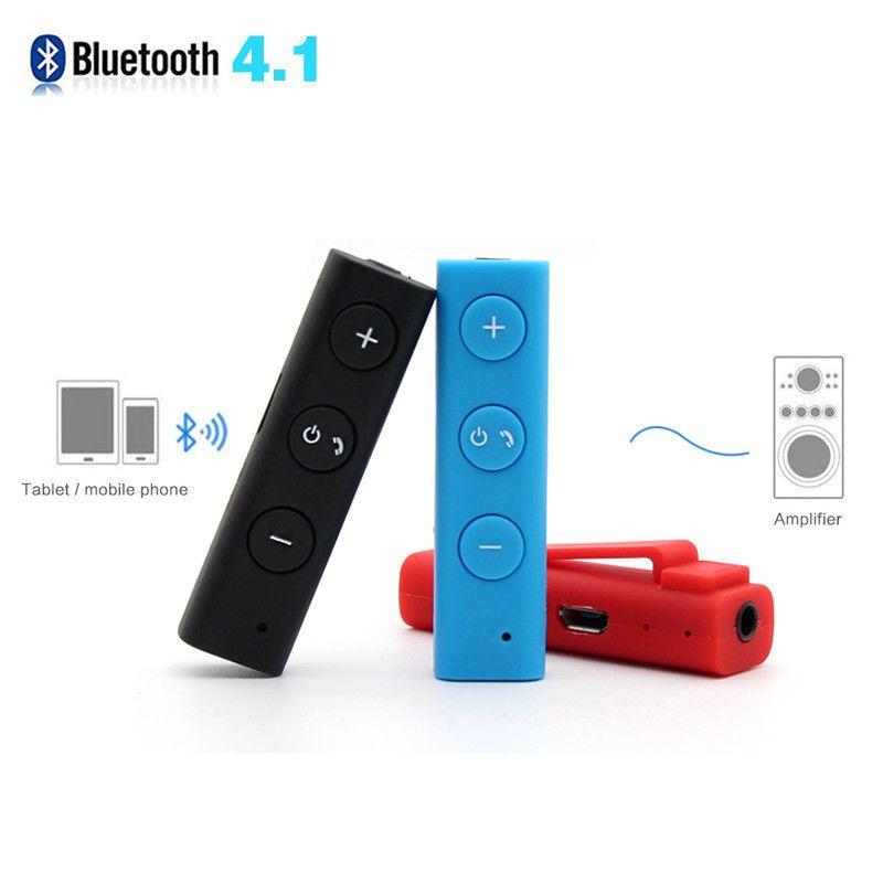 Details about Bluetooth Earphone Aux 3.5mm Audio Receiver