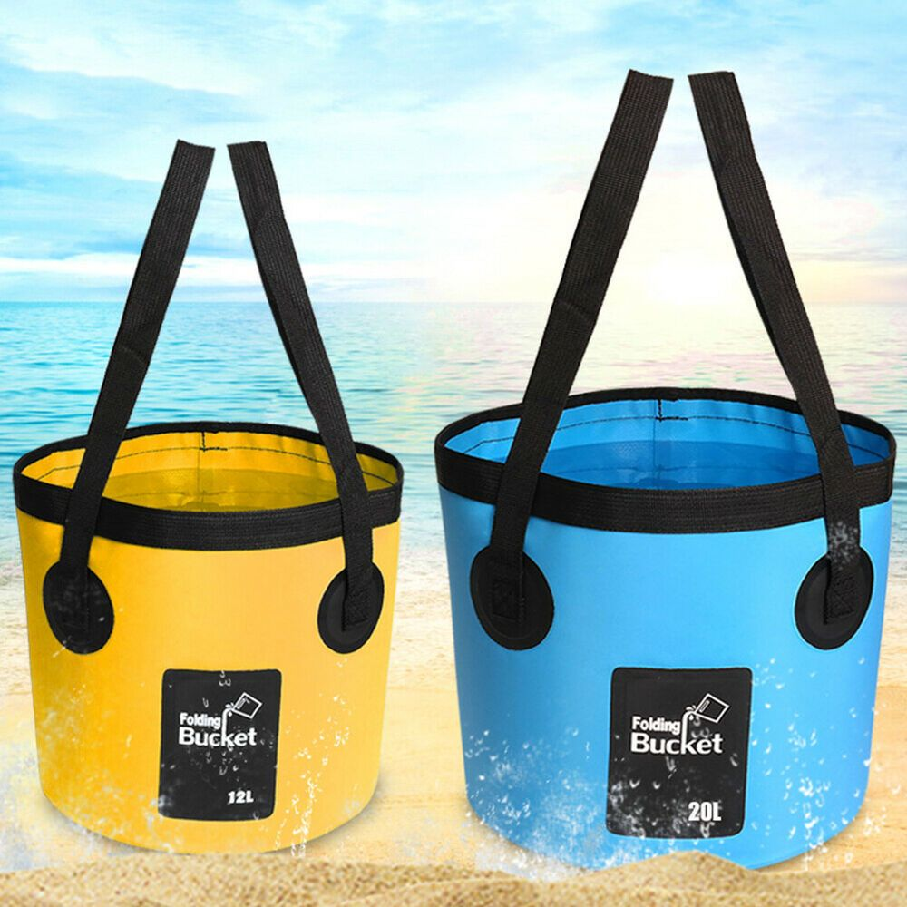 Premium Collapsible Bucket Water Container Bag for Camping Fishing Caravan