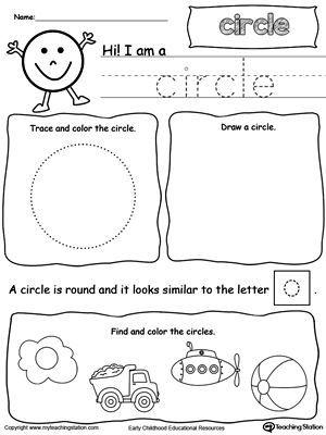 all about circle shapes preschool shapes preschool worksheets kindergarten math. Black Bedroom Furniture Sets. Home Design Ideas