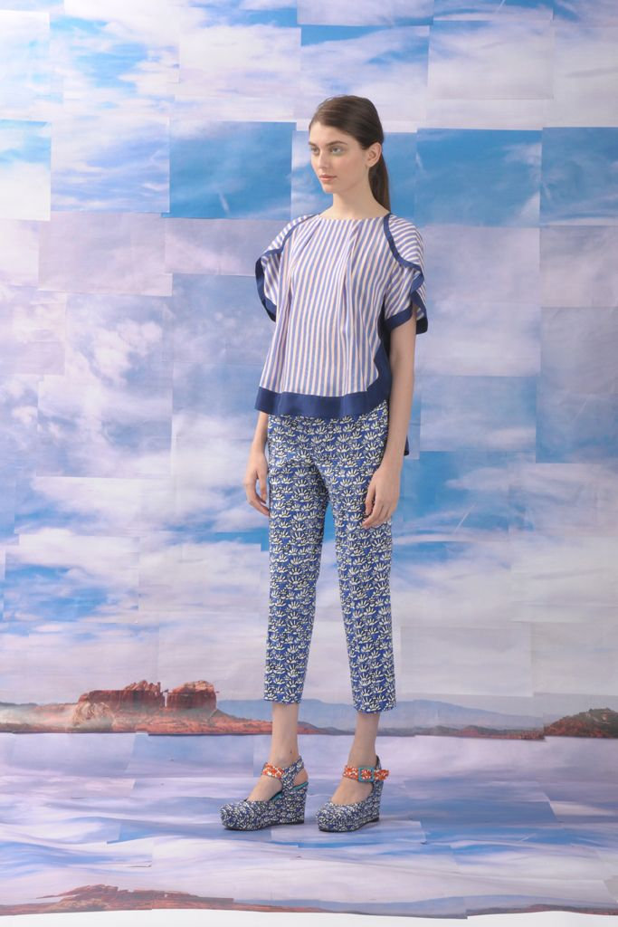 Tsumori Chisato Resort 2013 Collection Slideshow on Style.com