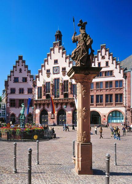 Der Romer Frankfurt Am Main Frankfurt Lugares Para Visitar Alemania