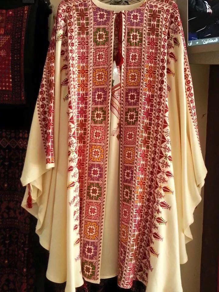 Palestinian Palestinian Embroidery Afghan Clothes Fashion