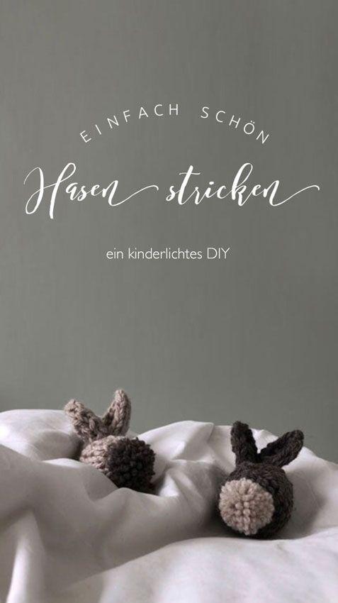 Photo of DIY | gestrickter Osterhase | einfach schön