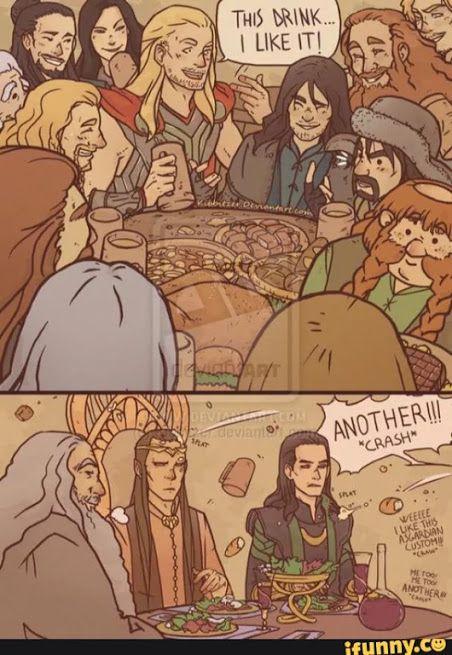Pin by Karli Linne on LOTR   The Hobbit   The hobbit, Loki, Thor