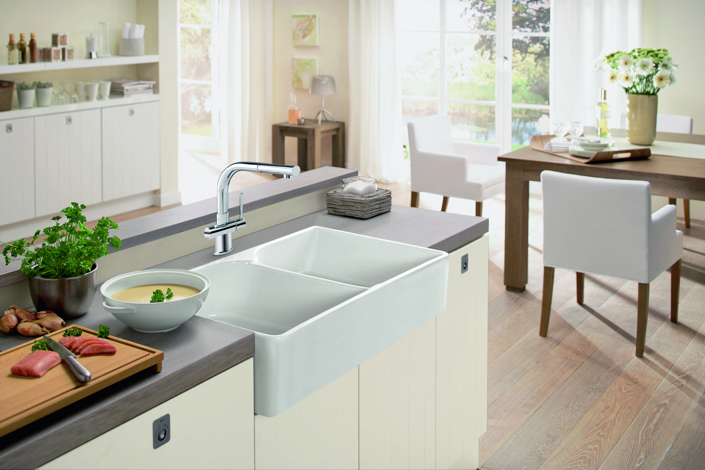 A leader in kitchen faucet design for more than 100 years | decor ...