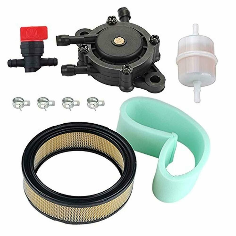 Air Filter Fuel Pump Tune Up Kit For Kohler Ch18 Ch20
