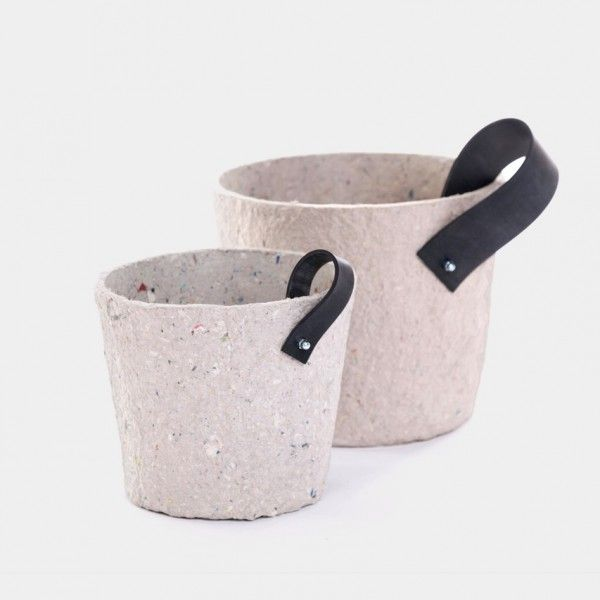 Paper pulp cachepot - Garden & Outdoor, Deco - Paraphernalia