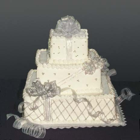 """Icing on the Cake"" wedding cake company. Most are very floral!"