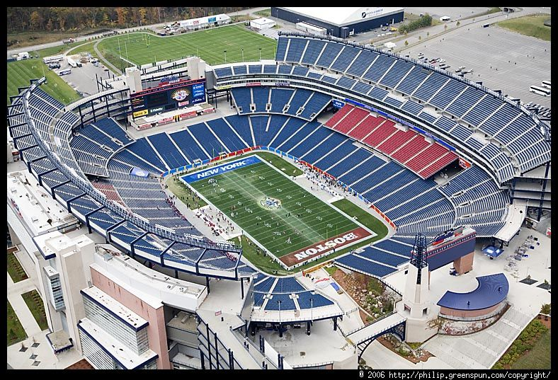 Setting The Scene Gillette Stadium Stadium Nfl Stadiums