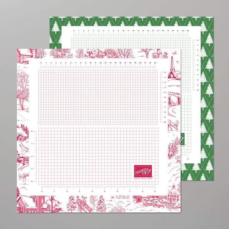 "SEASONAL 2019 13"" X 13"" (33 X 33 CM) GRID PAPER by Stampin ..."