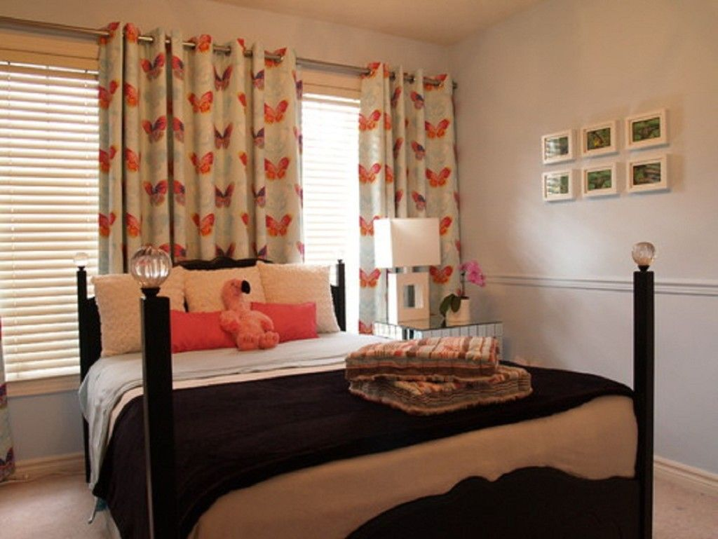 Bed against window with curtains  bedroom design tips curtains and more  bedroom ideas  pinterest