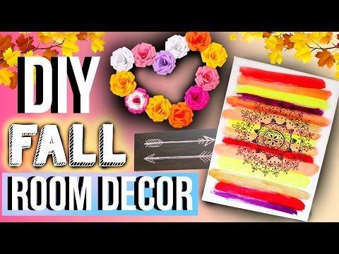 DIY Tumblr Room Decor for Fall (ish)| JENerationDIY - YouTube