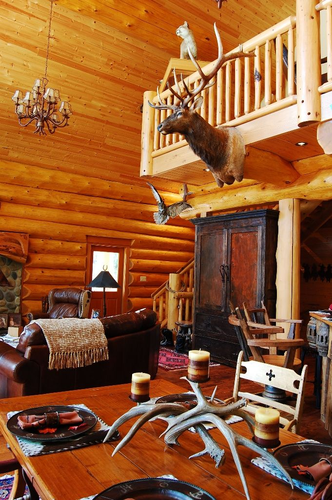 Log home interior also best magic images on pinterest decor design rh