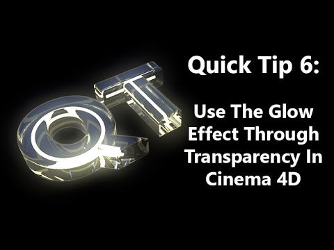 Quick Tip 6: Use The Glow Effect Through Transparency In