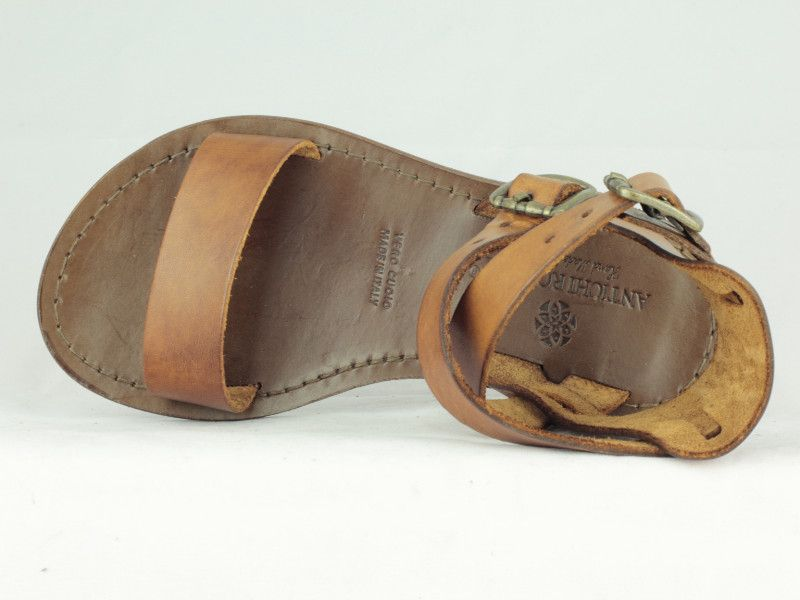 Sandal with Ankle Strap - Antichi Romani